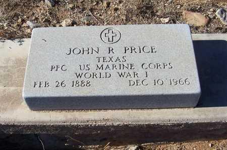 PRICE, JOHN R. - Gila County, Arizona   JOHN R. PRICE - Arizona Gravestone Photos