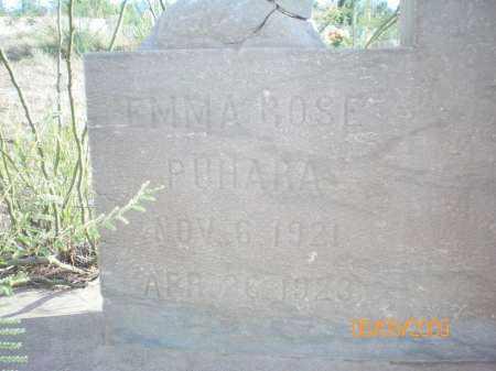 PUHARA, EMMA ROSE - Gila County, Arizona | EMMA ROSE PUHARA - Arizona Gravestone Photos