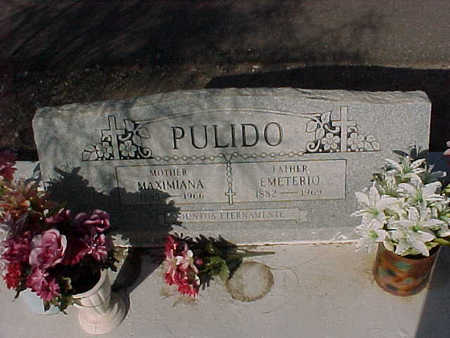 PULIDO, MAXIMIANA - Gila County, Arizona | MAXIMIANA PULIDO - Arizona Gravestone Photos