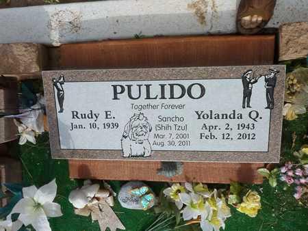 PULIDO, YOLANDA - Gila County, Arizona | YOLANDA PULIDO - Arizona Gravestone Photos
