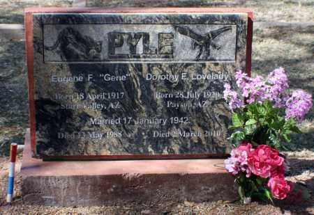 LOVELADY PYLE, DOROTHY EUNICE - Gila County, Arizona | DOROTHY EUNICE LOVELADY PYLE - Arizona Gravestone Photos