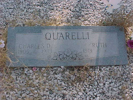 QUARELLI, CHARLES  D. - Gila County, Arizona   CHARLES  D. QUARELLI - Arizona Gravestone Photos