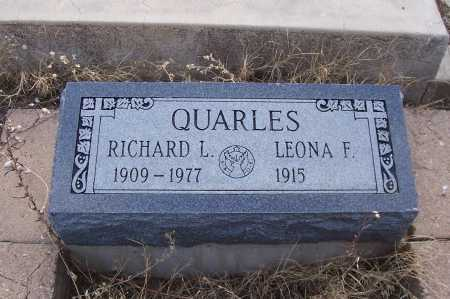 QUARLES, RICHARD - Gila County, Arizona | RICHARD QUARLES - Arizona Gravestone Photos