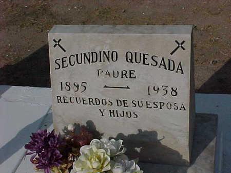 QUESADA, SECUNDINO - Gila County, Arizona | SECUNDINO QUESADA - Arizona Gravestone Photos