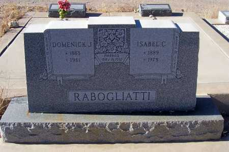 RABOGLIATTI, ISABEL C. - Gila County, Arizona | ISABEL C. RABOGLIATTI - Arizona Gravestone Photos