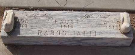 RABOGLIATTI, JOE - Gila County, Arizona | JOE RABOGLIATTI - Arizona Gravestone Photos
