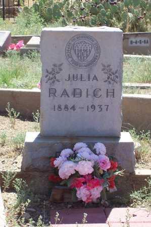 DANRA RADICH, JULIA - Gila County, Arizona   JULIA DANRA RADICH - Arizona Gravestone Photos
