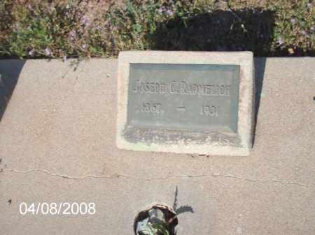 RADMELICH, JOSEPH C. - Gila County, Arizona   JOSEPH C. RADMELICH - Arizona Gravestone Photos