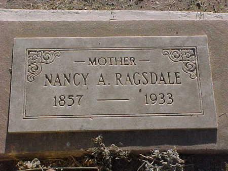 RAGSDALE, NANCY  A. - Gila County, Arizona   NANCY  A. RAGSDALE - Arizona Gravestone Photos