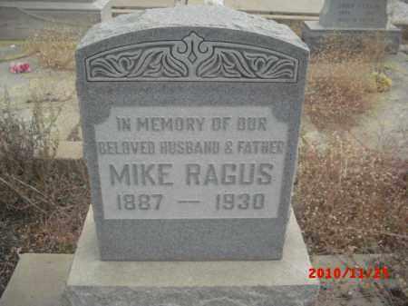 RAGUS, MIKE - Gila County, Arizona   MIKE RAGUS - Arizona Gravestone Photos