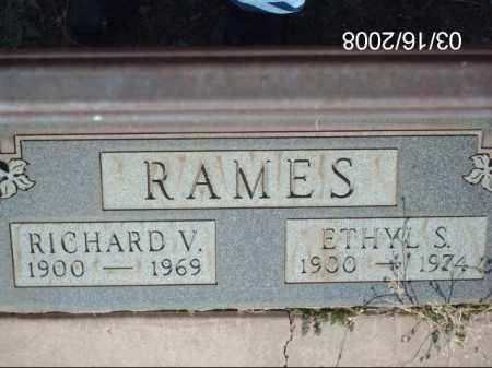 RAMES, RICHARD - Gila County, Arizona | RICHARD RAMES - Arizona Gravestone Photos