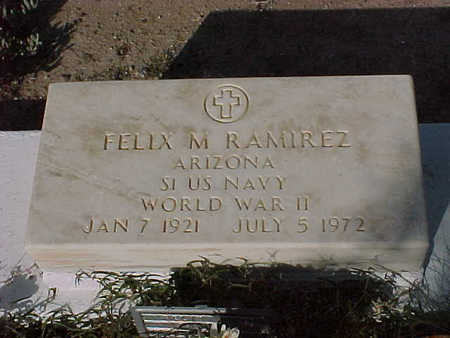 RAMIREZ, FELIX  M. - Gila County, Arizona | FELIX  M. RAMIREZ - Arizona Gravestone Photos