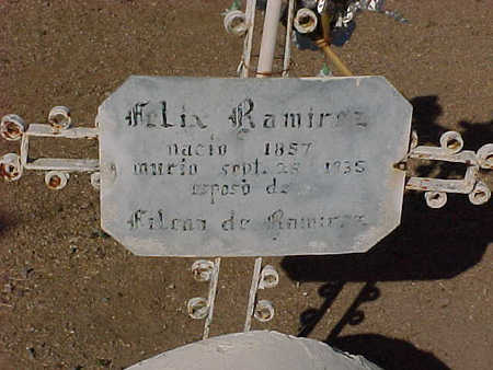 RAMIREZ, FELIX - Gila County, Arizona   FELIX RAMIREZ - Arizona Gravestone Photos