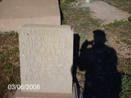 RAMIREZ, FRANSISCO - Gila County, Arizona   FRANSISCO RAMIREZ - Arizona Gravestone Photos