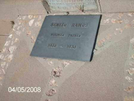 RAMOS, BENITO - Gila County, Arizona | BENITO RAMOS - Arizona Gravestone Photos