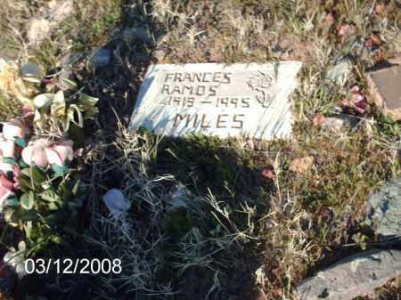 RAMOS, FRANCES - Gila County, Arizona   FRANCES RAMOS - Arizona Gravestone Photos