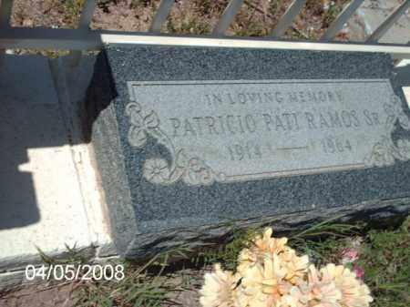 RAMOS, PATRICIO PATI - Gila County, Arizona   PATRICIO PATI RAMOS - Arizona Gravestone Photos