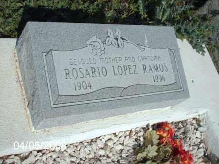 RAMOS, ROSARIO LOPEZ - Gila County, Arizona | ROSARIO LOPEZ RAMOS - Arizona Gravestone Photos