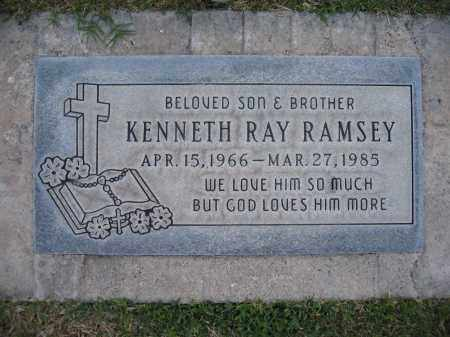 RAMSEY, KENNETH - Gila County, Arizona | KENNETH RAMSEY - Arizona Gravestone Photos