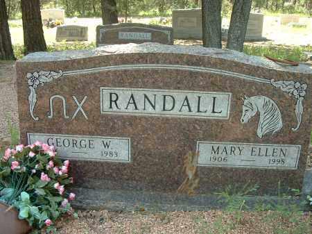 CAMPBELL RANDALL, MARY ELLEN - Gila County, Arizona | MARY ELLEN CAMPBELL RANDALL - Arizona Gravestone Photos