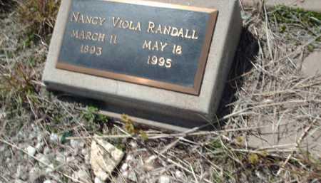 RANDALL, NANCY VIOLA - Gila County, Arizona | NANCY VIOLA RANDALL - Arizona Gravestone Photos