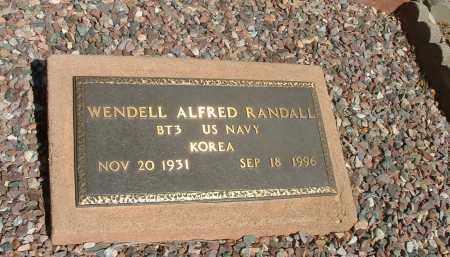 "RANDALL, WENDELL ALFRED ""JAKE"" - Gila County, Arizona   WENDELL ALFRED ""JAKE"" RANDALL - Arizona Gravestone Photos"