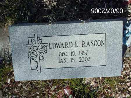RASCON, EDWARD - Gila County, Arizona | EDWARD RASCON - Arizona Gravestone Photos