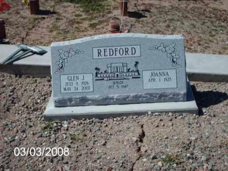 REDFORD, GLEN - Gila County, Arizona | GLEN REDFORD - Arizona Gravestone Photos