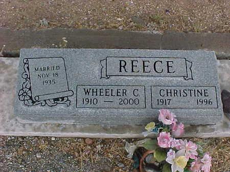 REECE, WHEELER  C. - Gila County, Arizona | WHEELER  C. REECE - Arizona Gravestone Photos