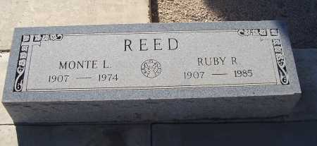 REED, MONTE L. - Gila County, Arizona | MONTE L. REED - Arizona Gravestone Photos