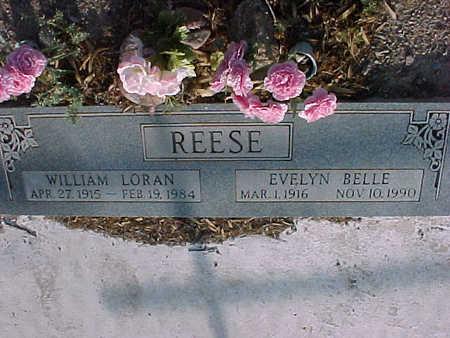 REESE, EVELYN BELLE - Gila County, Arizona | EVELYN BELLE REESE - Arizona Gravestone Photos