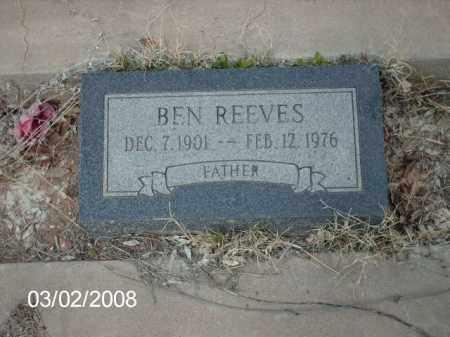 REEVES, BEN - Gila County, Arizona   BEN REEVES - Arizona Gravestone Photos