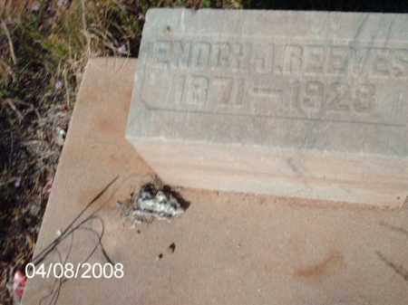 REEVES, ENOCH - Gila County, Arizona | ENOCH REEVES - Arizona Gravestone Photos