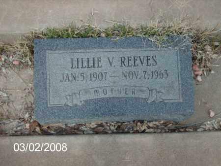 REEVES, LILLIE - Gila County, Arizona | LILLIE REEVES - Arizona Gravestone Photos