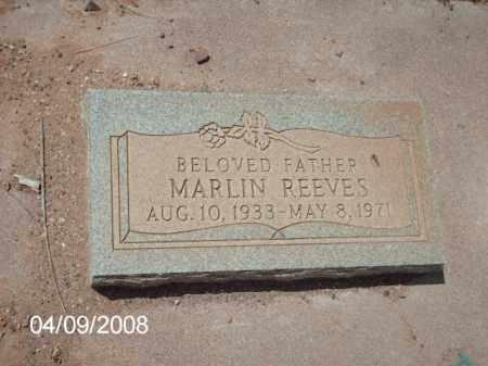 REEVES, MARLIN - Gila County, Arizona | MARLIN REEVES - Arizona Gravestone Photos
