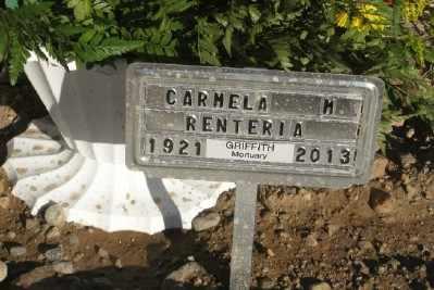 RENTERIA, CARMELA M. - Gila County, Arizona | CARMELA M. RENTERIA - Arizona Gravestone Photos