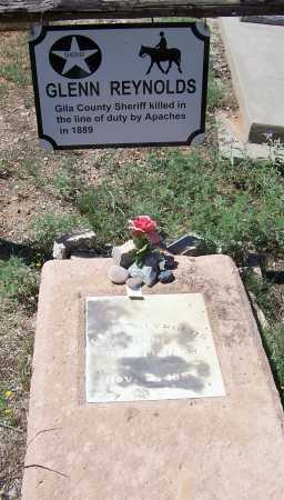 REYNOLDS, GLEN - Gila County, Arizona | GLEN REYNOLDS - Arizona Gravestone Photos