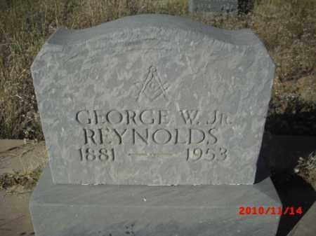 REYNOLDS, GEORGE W. JR. - Gila County, Arizona | GEORGE W. JR. REYNOLDS - Arizona Gravestone Photos