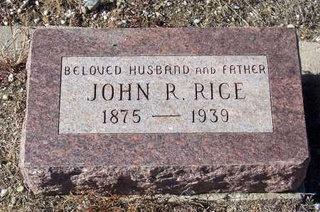 RICE, JOHN R - Gila County, Arizona   JOHN R RICE - Arizona Gravestone Photos