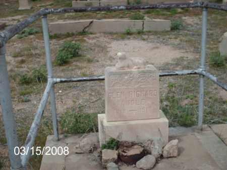 RICHARD, GLEN - Gila County, Arizona | GLEN RICHARD - Arizona Gravestone Photos