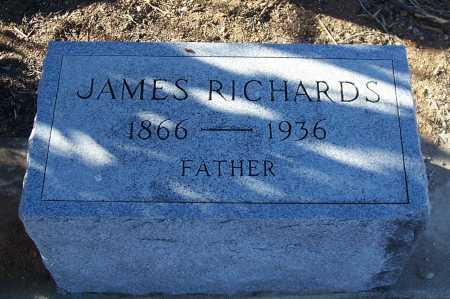 RICHARDS, JAMES - Gila County, Arizona | JAMES RICHARDS - Arizona Gravestone Photos