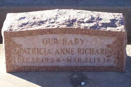 RICHARDS, PATRICIA ANNE - Gila County, Arizona   PATRICIA ANNE RICHARDS - Arizona Gravestone Photos