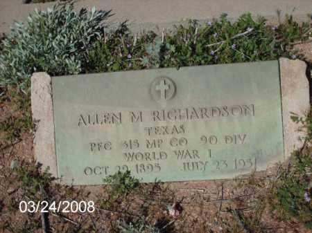 RICHARDSON, ALLEN - Gila County, Arizona   ALLEN RICHARDSON - Arizona Gravestone Photos