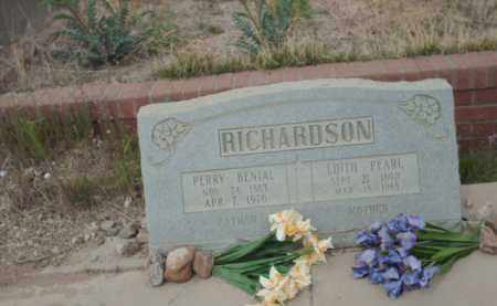 RICHARDSON, PERRY BENIAL - Gila County, Arizona | PERRY BENIAL RICHARDSON - Arizona Gravestone Photos