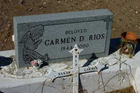 RIOS, CARMEN  D. - Gila County, Arizona | CARMEN  D. RIOS - Arizona Gravestone Photos