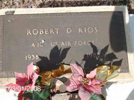 RIOS, ROBERT - Gila County, Arizona | ROBERT RIOS - Arizona Gravestone Photos