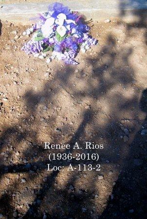 RIOS, RENEE ADELINE - Gila County, Arizona   RENEE ADELINE RIOS - Arizona Gravestone Photos