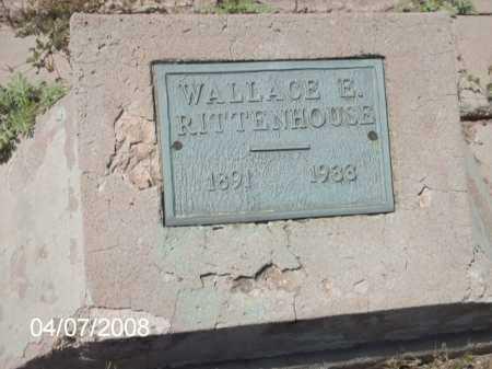 RITTENHOUSE, WALLACE E, - Gila County, Arizona   WALLACE E, RITTENHOUSE - Arizona Gravestone Photos