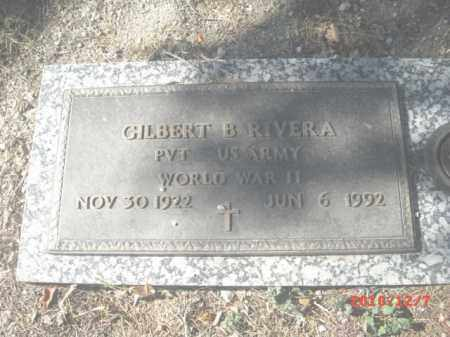 RIVERA, GILBERT B. - Gila County, Arizona   GILBERT B. RIVERA - Arizona Gravestone Photos