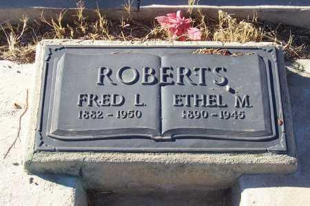 ROBERTS, FRED L. - Gila County, Arizona | FRED L. ROBERTS - Arizona Gravestone Photos